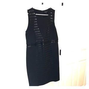 ELOQUII Black Sheath Dress